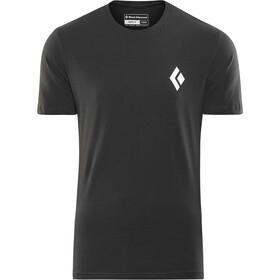 Black Diamond Equipment for Alpinist Maglietta a maniche corte Uomo, nero